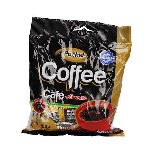 Foto CARAMELO DE CAFE CREMOSO COFFEE POCKET 100GR de