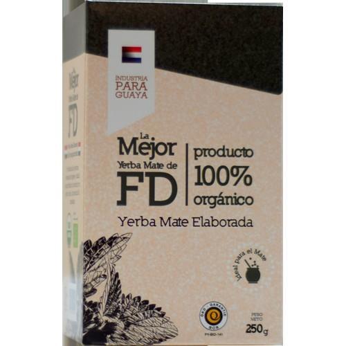 Foto YERBA MATE ELABORADA LA MEJOR FD 250GR de