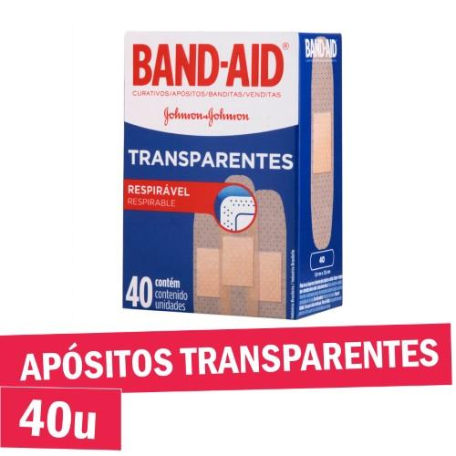 Foto CURITAS TRANSPARENTES RESPIRABLES BAND AID 40UNID de