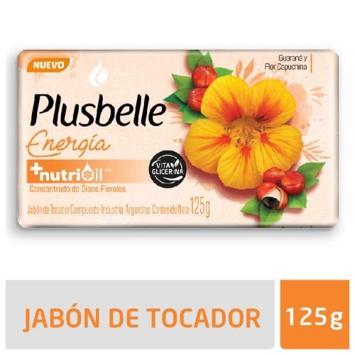 Foto JABON DE TOCADOR ENERGIA PLUSBELLE 125GR de