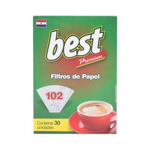 Foto BEST FILTROS DE PAPEL PARA CAFE 102 30 UNIDADES de