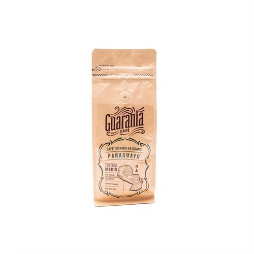 Foto CAFE TOSTADO EN GRANOS GUARANIA 250GR PLAST de
