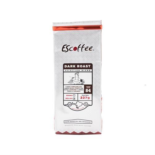 Foto ESCOFFEE CAFE MOLIDO DARK ROAST SELECTION BLEND 227 GR de