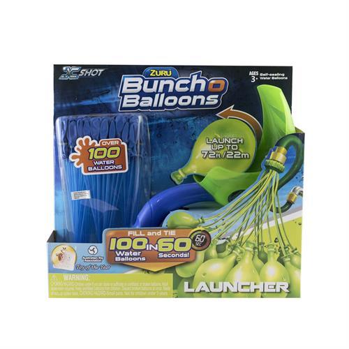 Foto BOING TOYS BUNCH BALLONS LANZADOR Y SET GLOBOS X 3 BLIS  de