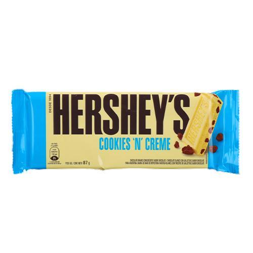 Foto CHOCOLATE COOKIES 'N' CREME HERSHEYS 87GR de